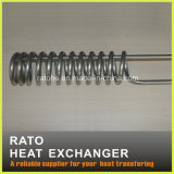 calentador tubular de la bobina 220V de la dimensión de una variable eléctrica del espiral para la calefacción por agua
