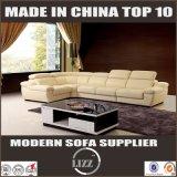 Sofá de couro secional da alta qualidade luxuosa
