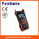 Contador de potencia de Techwin Tw3208e usado para la medida de potencia óptica