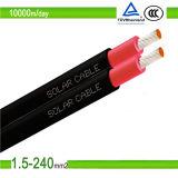 Utilisation solaire de câble du câble 10mm2 100meter/Roll 140g/Meter de câble solaire de PVC avec le système solaire