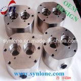 Законченный подвергая механической обработке стальная часть