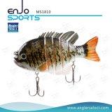 Richiamo del multi sale realistico congiunto di Swimbait dell'attrezzatura di pesca & di pesce d'acqua dolce (MS1810)