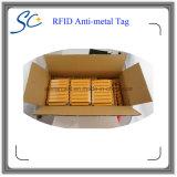 Пассивная напечатанная бирка Анти--Металла UHF RFID для управления имуществом