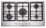 Acciaio inossidabile della stufa di gas della cucina della casa della strumentazione del gas (JZS5602A)