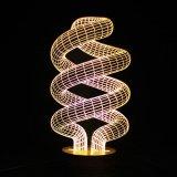 아BS 물자와 세륨 증명서 표준 아크릴 LED 밤 빛