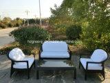 4 parti di conversazione del sofà della mobilia esterna di vimini del rattan stabilito