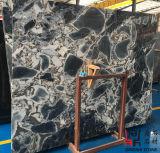 Слябы естественной каменной китайской славной первоначально галактики голубые мраморный для стены Clading/настила