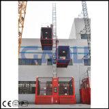 Шкаф-и-Шестерня Gaoli 2ton 3-Управляет подъемом конструкции Двойн-Клетки