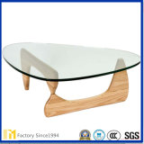2017 Factory Price Furniture Glass pour table basse