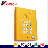 IPの緊急の耐圧防爆電話声の屋外の電話Knzd-29青く軽い端末