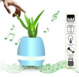 화분 빛을%s 가진 접촉 음악 Bluetooth 최신 지능적인 스피커