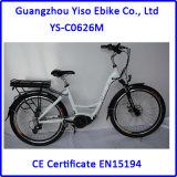 Bafang 센터 모터를 가진 2016년 세륨 승인되는 700c E 자전거