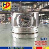 Pistão com Pin para as peças de motor Diesel da máquina escavadora 4jj1 com OEM (8-97367-397-1)