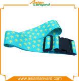 Kundenspezifischer Polyester-Wärmeübertragung-Gepäck-Riemen