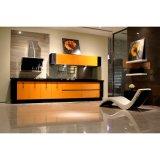 Projekt-ökonomische heiße Verkaufs-Melamin-Küche hölzerne Carbinet Möbel-Küche-Schränke