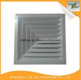 Difusor do ar da fonte do teto, difusor quadrado para o condicionamento de ar