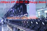 Sharpy 230w 7R Haz Cabeza Móvil