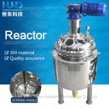 Réacteur chimique de mélange cosmétique sanitaire de réservoir d'acier inoxydable