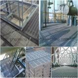 Grating de aço Locked da pressão de Haoyuan em aplicações diferentes