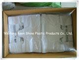 Ясный пластичный мешок замка застежка-молнии с изготовленный на заказ печатание