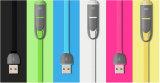 Портативная пишущая машинка 2 в 1 кабеле USB кабеля заряжателя мобильного телефона для iPhone и Android