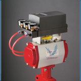92083011300532 balk Actuator van de Pignon van het Rek Veilige Pneumatische