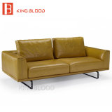Modernes modulares ledernes Sofa für Büro-Möbel