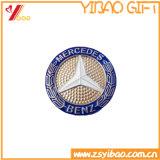 Médaille d'or en laiton antique de Plted avec le cadeau de pièce de monnaie de médaillon de logo de propriétaire (YB-HD-33)