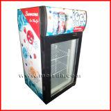 Mini congélateur d'étalage de crême glacée