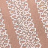 Tessile solubile in acqua del tessuto del merletto L20014