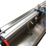 Halb-Selbstfüllmaschine-pneumatischer Saft-flüssige Füllmaschine