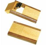 Bastone di legno del USB della parte girevole del USB dell'istantaneo di bambù di memoria