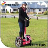 Elektrische voertuig van het Saldo van de Scooter van de Autoped 2000W van de Zwerver van de wind het Elektrische Zelf