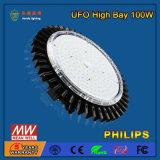 Éclairage élevé linéaire de compartiment d'UFO DEL de SMD2835 100W