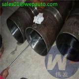 Tubo inconsútil Polished afilado con piedra del acero inoxidable del barril de cilindro