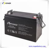 太陽、UPSの電気通信のためのVRLA AGMの鉛酸蓄電池12V100ah