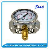 グリセリン圧力正確に測液体によって満たされる圧力正確に測オイルの圧力計