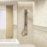 Mattonelle lustrate di ceramica della parete interna di vendita calda per la stanza da bagno