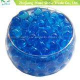 Al por mayor oscuro de suelo Blue Beads Cuentas de cristales de agua de absorción para la decoración