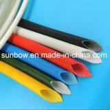 Fibre de verre à haute tension de silicones de classe de H gainant pour des câbles