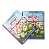 Glossy Kunst Papier broschiert Malbuch für Kinder Geschenk