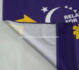 Глянцеватые знамена ткани полиэфира полного цвета (SS-SF-87)