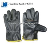Dark Color Furniture Full Leather Driver Glove-4010