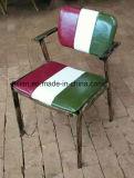 금속 구조 (LL-BC038)를 가진 미국 마을 바 의자