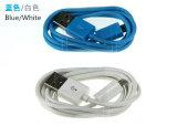 순수한 구리 철사를 가진 다채로운 PVC 마이크로 USB 데이터 케이블