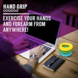 Adjustable Fitness Hand Grip Strengthener for Training