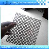 Folha perfurada de diamante ou pergaminho Rhombus