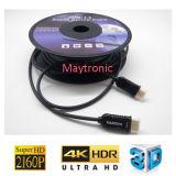 Кабель волокна HDMI 2.0 активно, оптически кабель HDMI