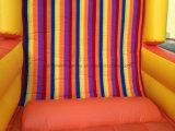 Gioco di parete rampicante rampicante gonfiabile di Stickey, parete appiccicosa gonfiabile del Velcro