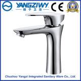 Faucet da bacia da cachoeira do furo do único punho do cromo único (YZ5086)